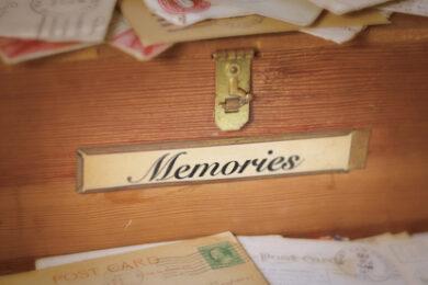painful memories belong in the past
